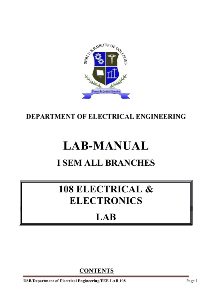 Famous electrical wiring lab manual pdf images simple wiring wiring rules table c1 images wiring table and diagram sample book greentooth Choice Image