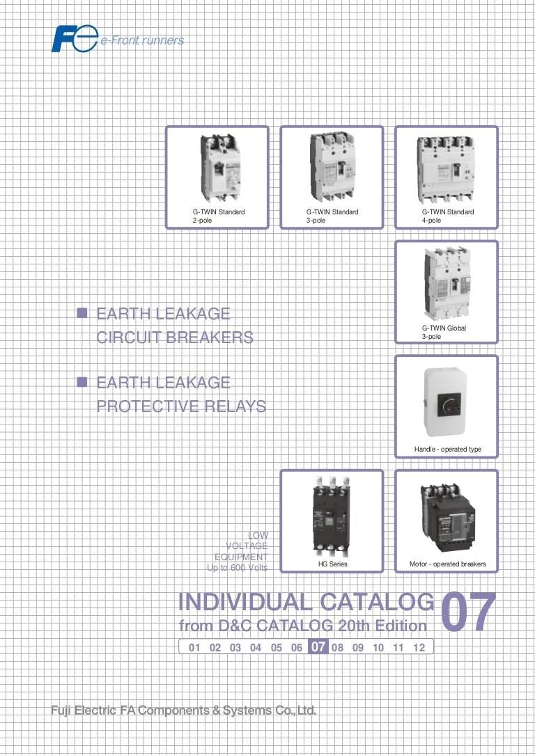 medium resolution of catalogue elcb fuji earth leakage circuit breaker fuji beeteco com