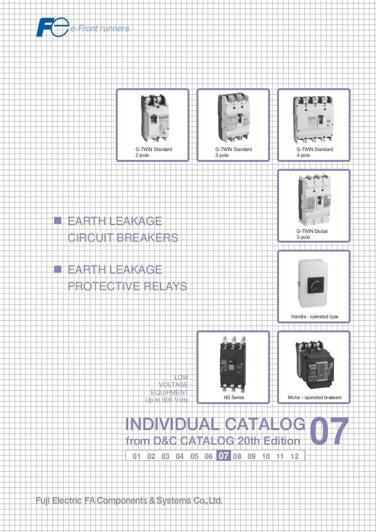 hight resolution of catalogue elcb fuji earth leakage circuit breaker fuji beeteco com