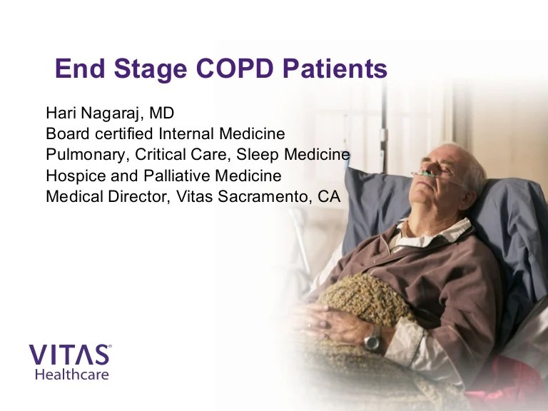 end stage copd meeting