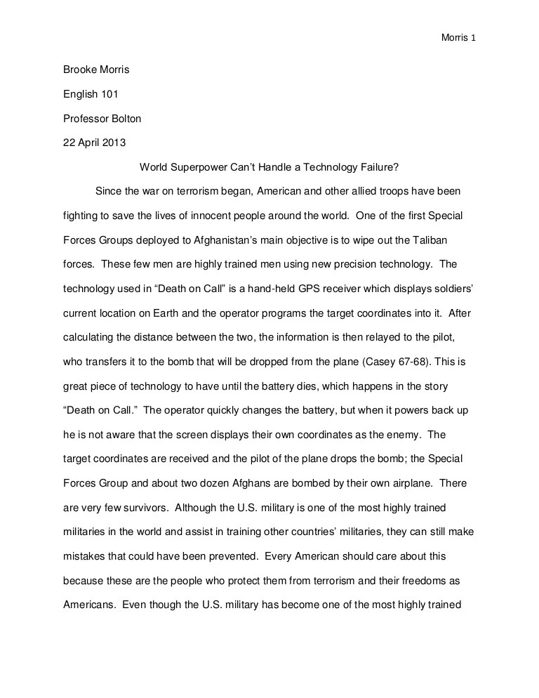 English 101 Essay Satire About Global Warming Essay E Comte Early
