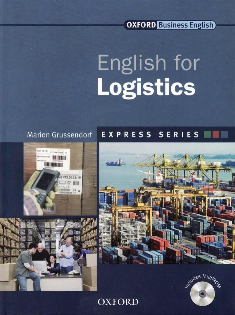 File PDF Sách Tiếng anh chuyên ngành Logistics - English for Logistics Books.