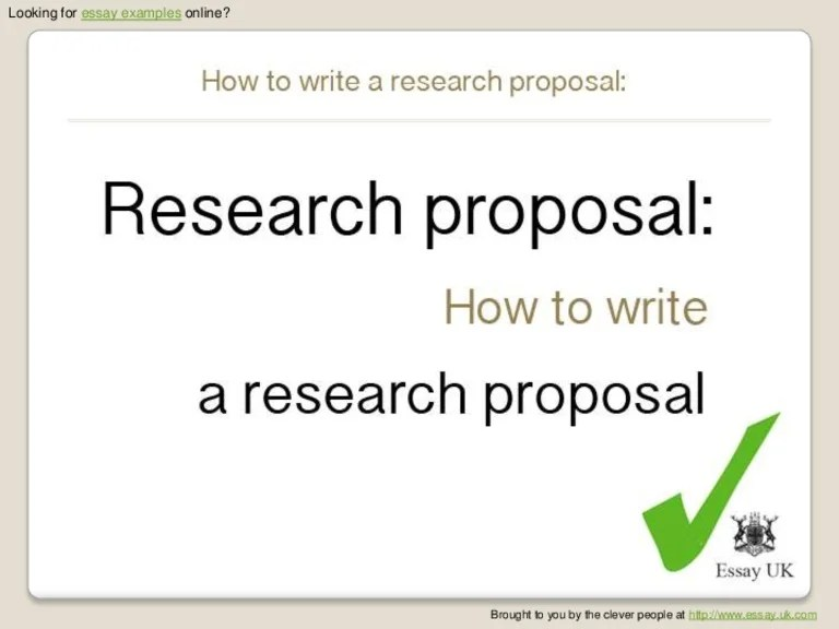 How To Write Proposal Essay How To Write A Proposal Essaypaper