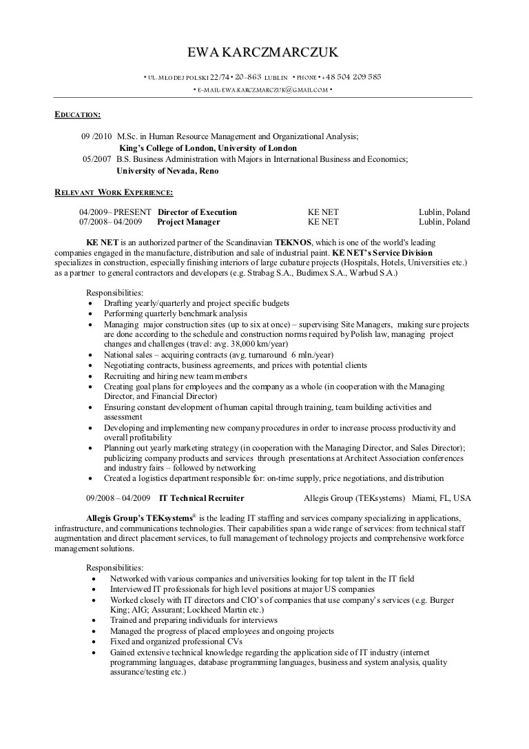 Lockheed Martin Resume Resume Ideas