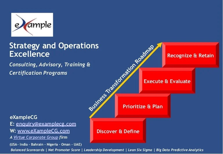 E Xamplecg Strategy Analytics And Operations Excellence