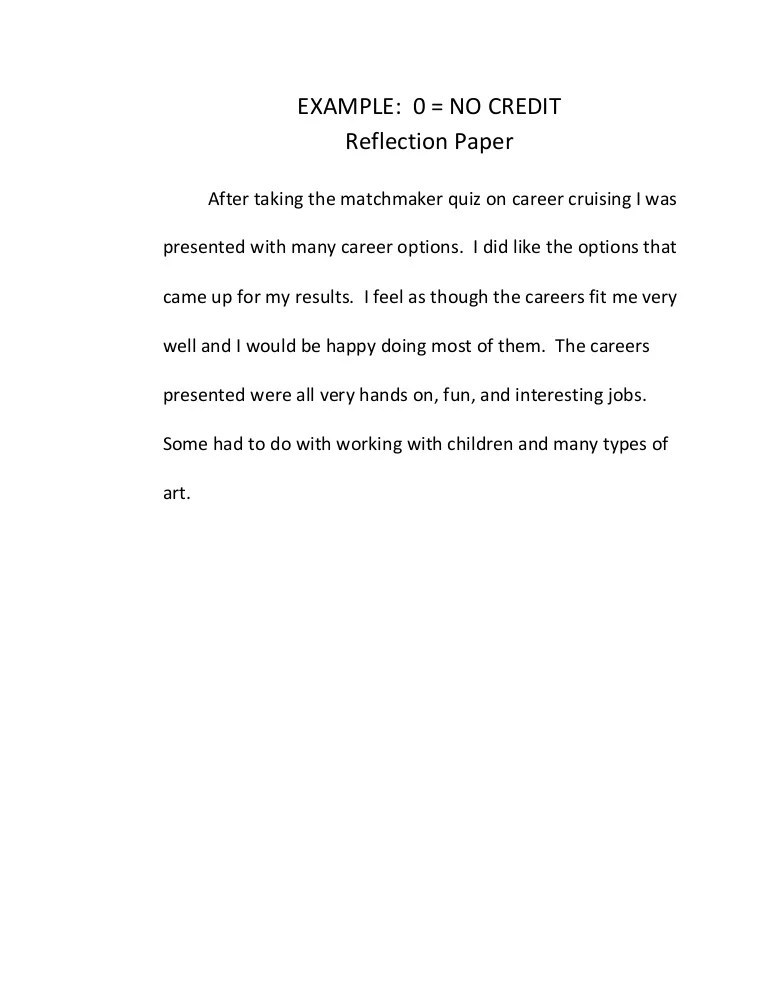 Examples of reflections