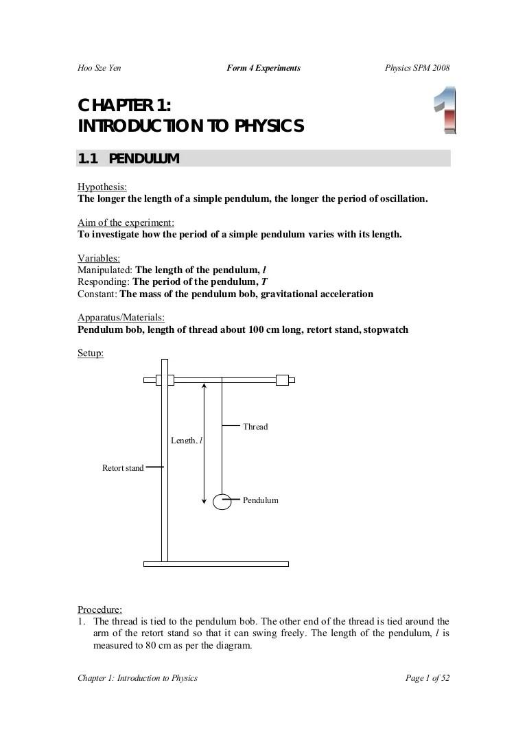 pendulum experiment diagram [ 768 x 1087 Pixel ]