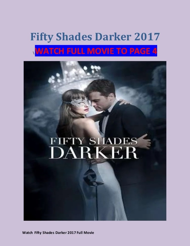 Nonton Film Fifty Shades Of Darker : nonton, fifty, shades, darker, Watch, Fifty, Shades, Darker, (2017), Movie, Streaming, Quality