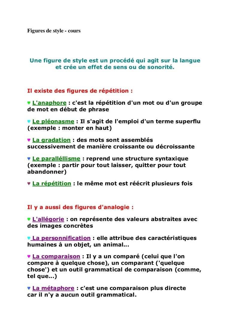 Exemple De Personnification D'un Objet : exemple, personnification, objet, Figures, Style