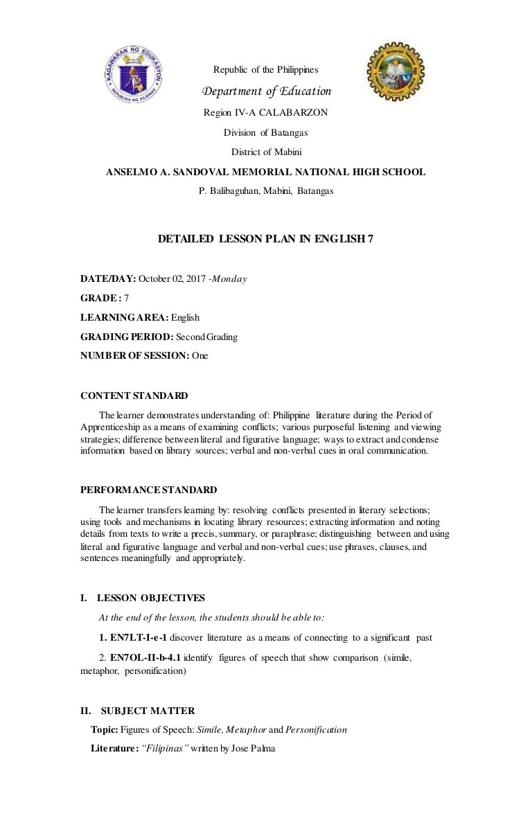 medium resolution of Final demo teaching english 7 figures of speech(october 02