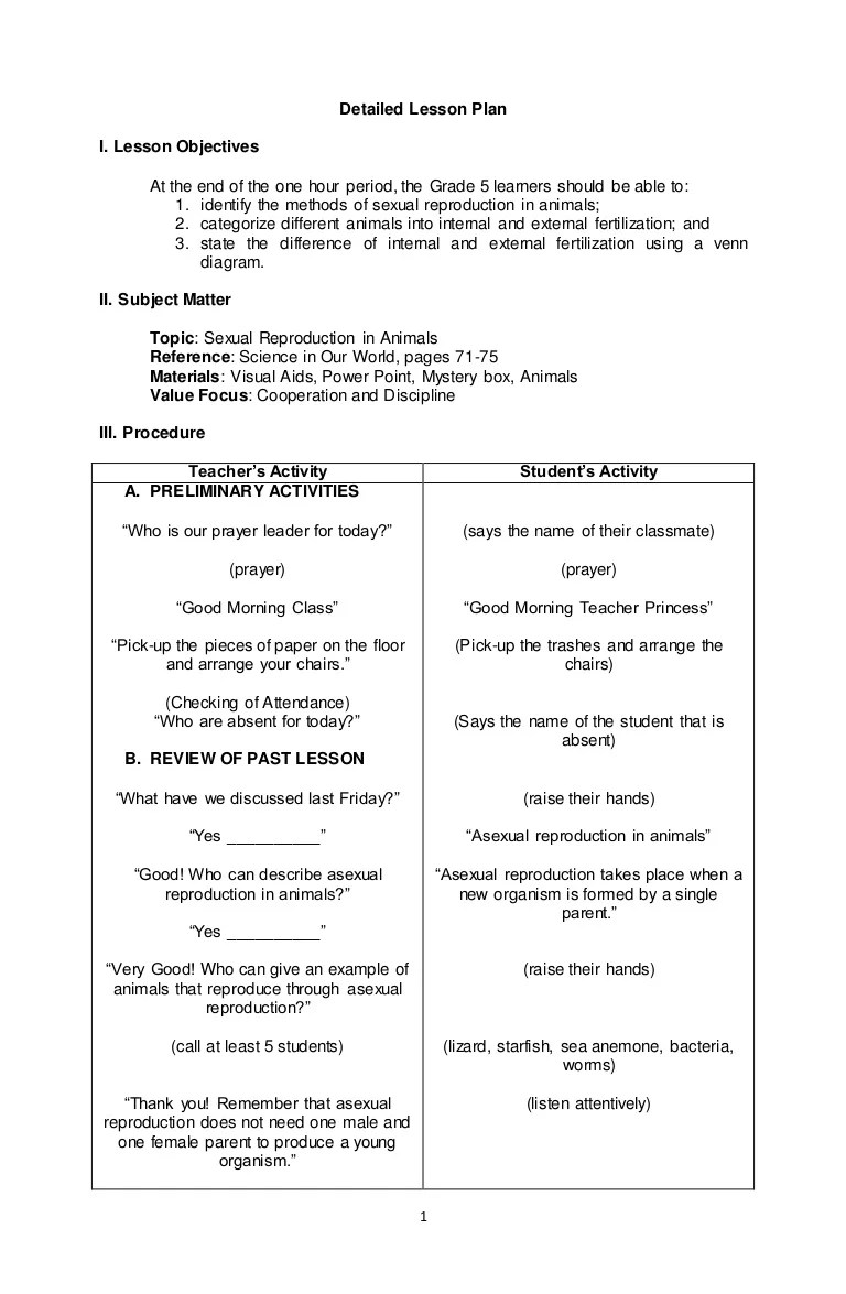 sexual reproduction in animals ks2 lesson plan worksheet and  [ 768 x 1175 Pixel ]