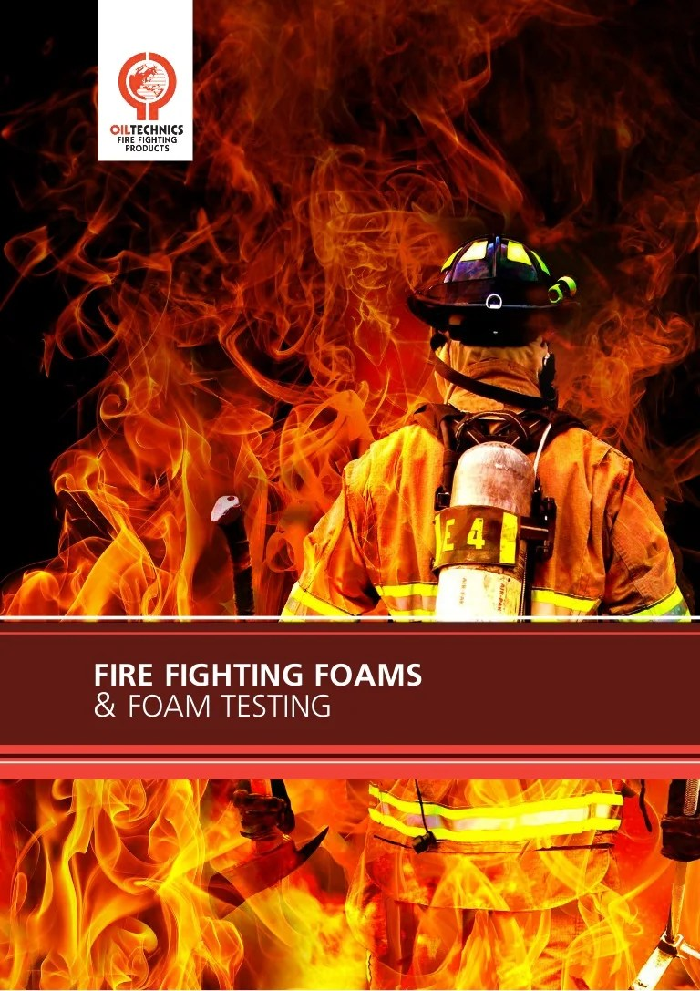 OTL New Fire Sample Testing & Fire Fighting Foams Brochure