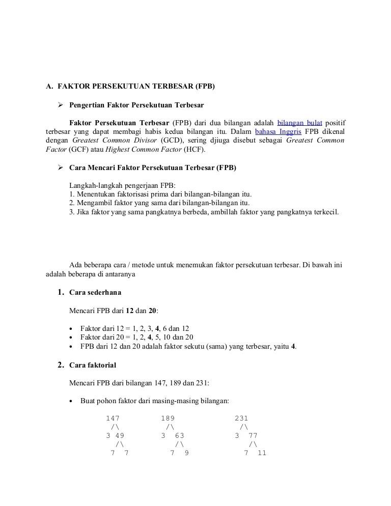 Pengertian Kpk Dan Fpb : pengertian, Dan_bilangan_prima