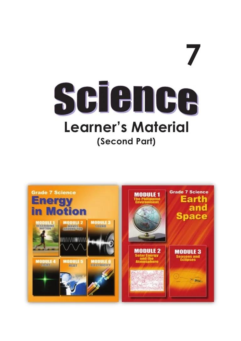 hight resolution of G7 science student modules 3rd \u0026 4th qrtr