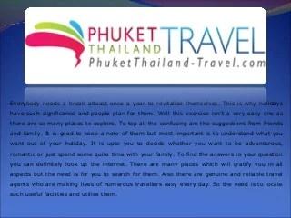 Phuket Day Tours
