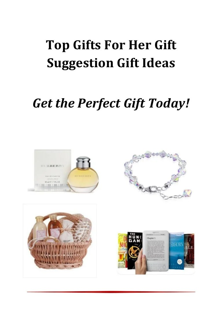 Gifts For Her Gift Suggestion List Gift Ideas Fast Delivery