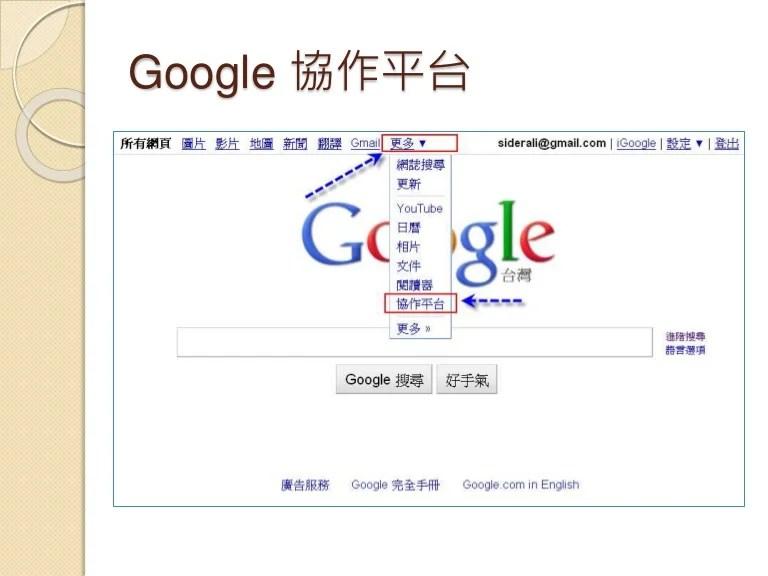 Google協作平臺