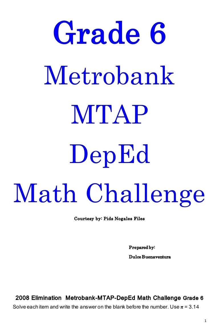 medium resolution of Grade 6 mtap reviewer