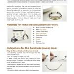 Hemp Bracelet Patterns For Men