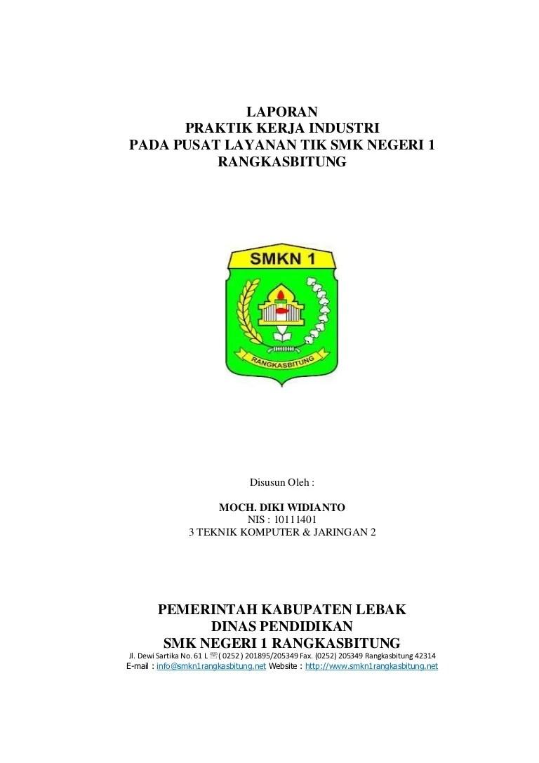 Contoh Laporan Prakerin Smk Jurusan Akuntansi Kumpulan Contoh Laporan Cute766