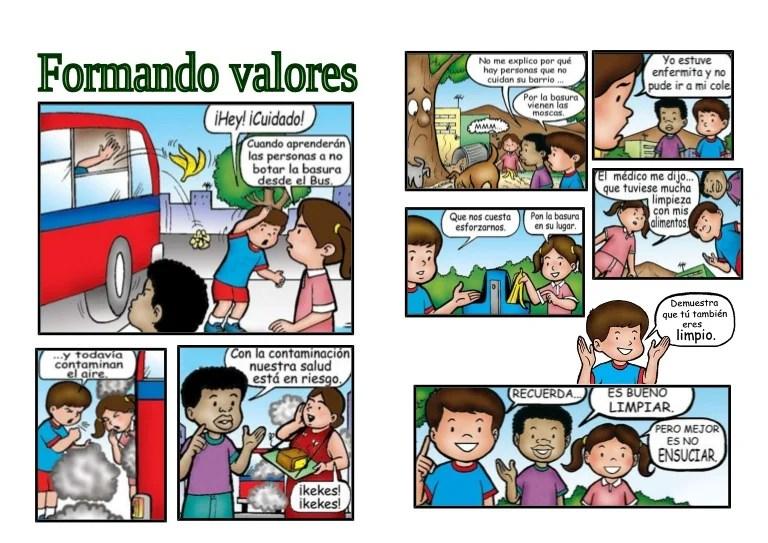Historieta Valores