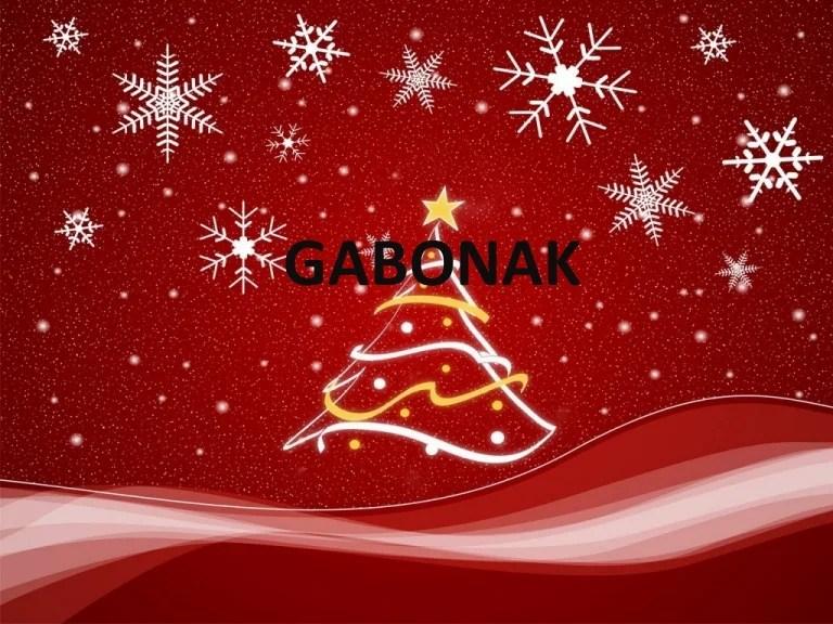 Resultado de imagen de gabonak