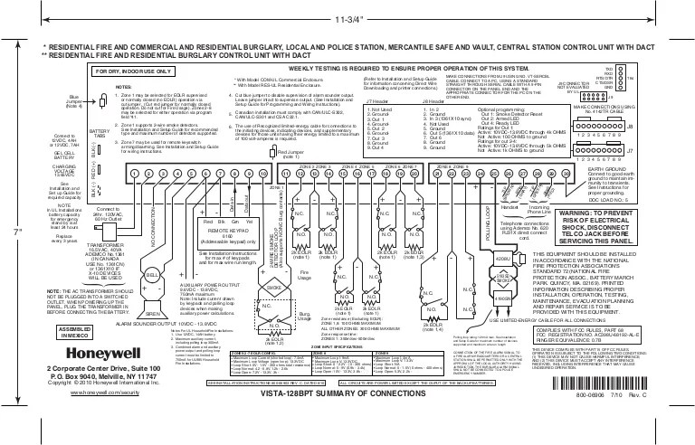 honeywell vista 128bpt connections summary 120804190335 phpapp02 thumbnail 4?cb=1344124026 vista 20p wiring diagram vista wiring diagrams instruction vista 20p wiring diagram at bakdesigns.co