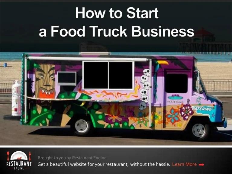Mobile Food Truck Vendor License