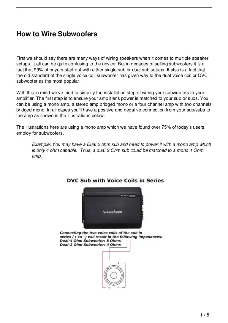 small resolution of how to wire subwoofers 120721065335 phpapp02 thumbnail 4 jpg cb 1342853646