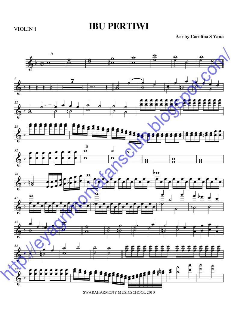 Chords for Kulihat ibu pertiwi lagu nasional
