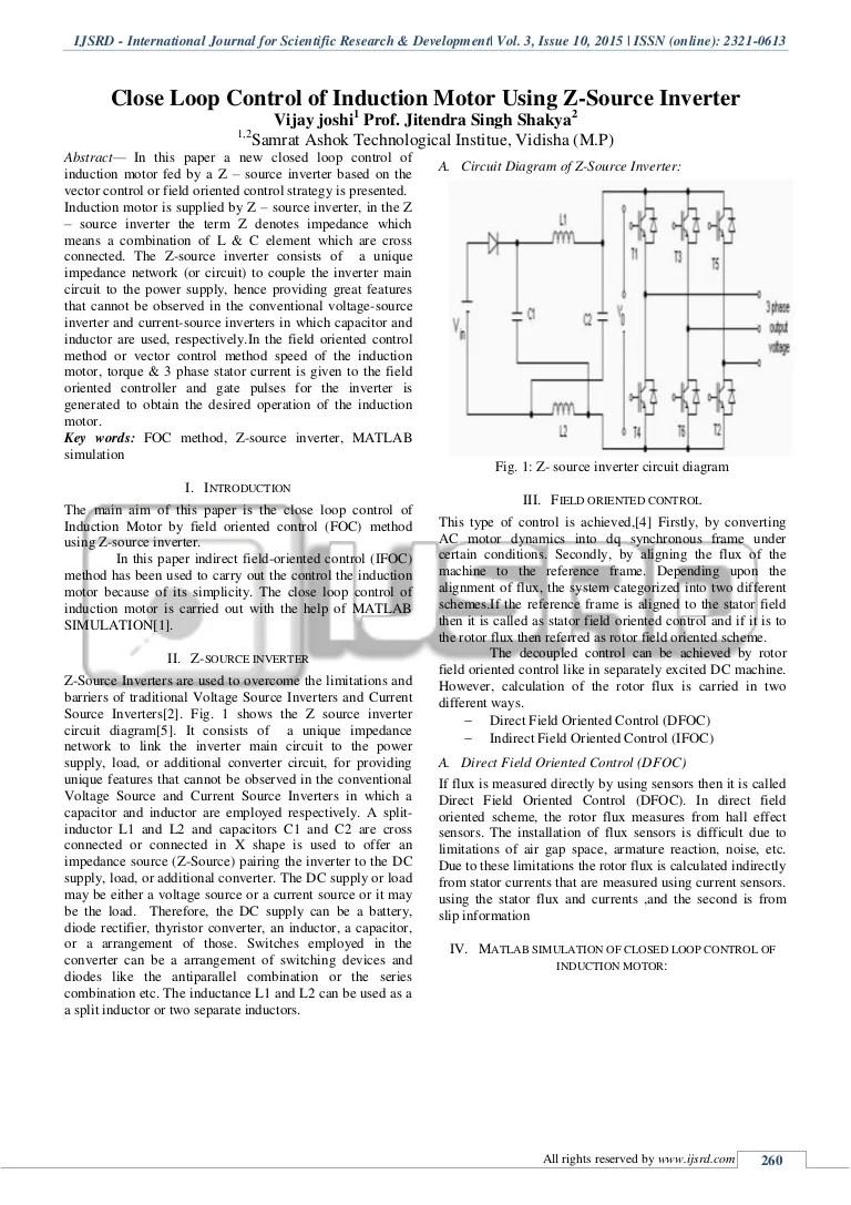 medium resolution of z source inverter circuit diagram