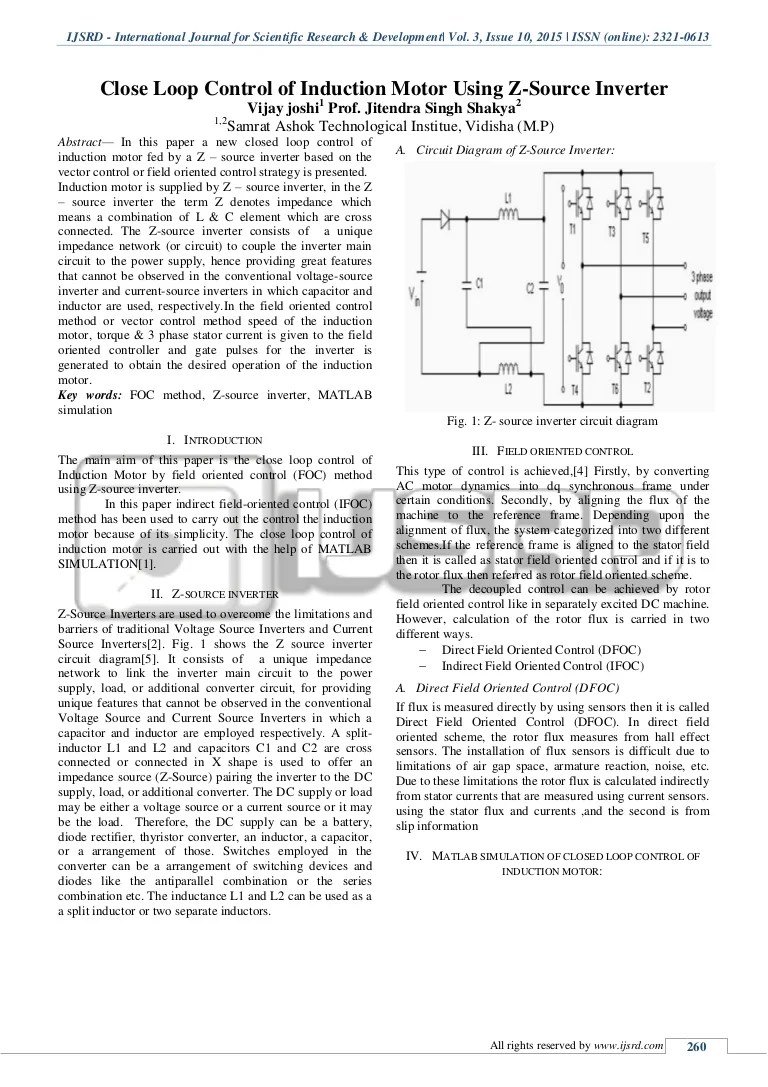 hight resolution of z source inverter circuit diagram