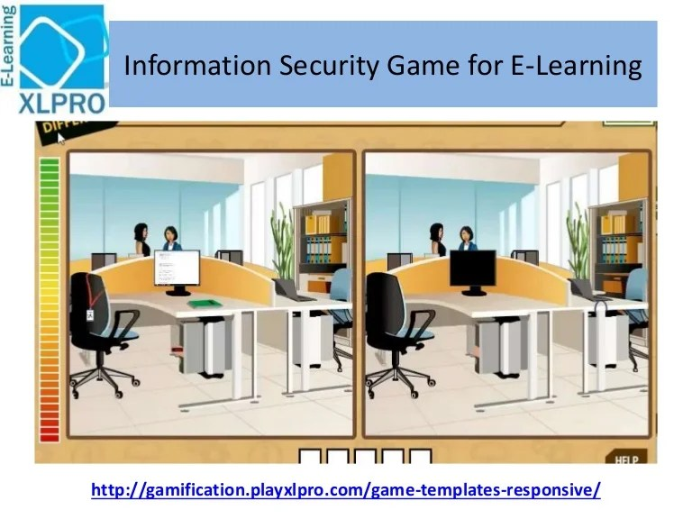 Information Security Corporate E Learning Game