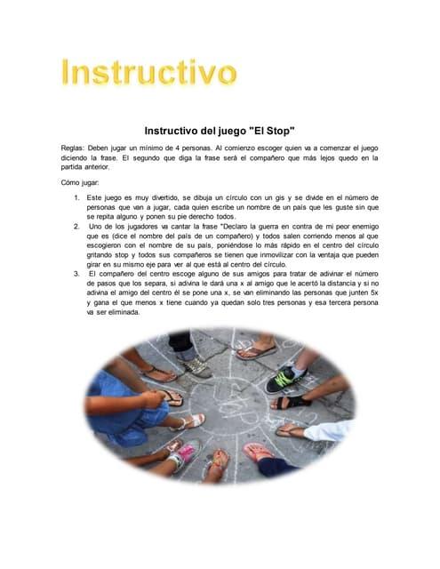 Instructivos De Juegos De Patio La Gallinita Ciega : instructivos, juegos, patio, gallinita, ciega, Instructivo, Juego