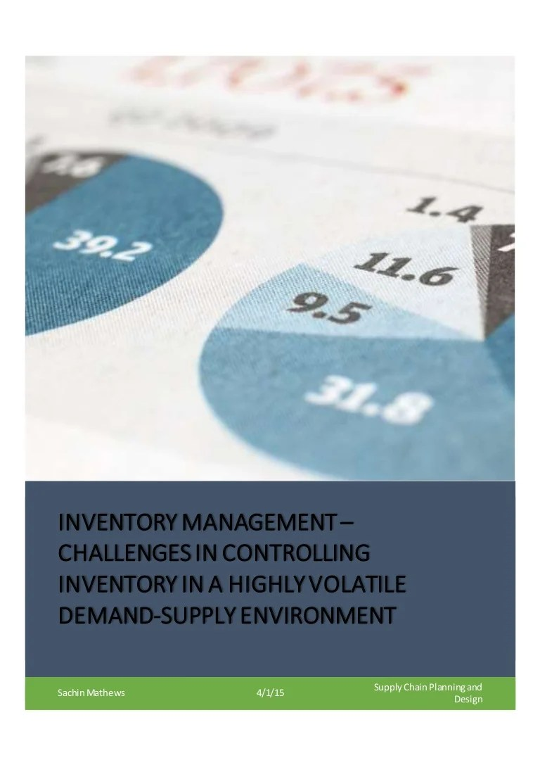 Purchase And Inventory Management Bplans Inventory Management And Its  Effects Research Proposal Inventory Management And Its