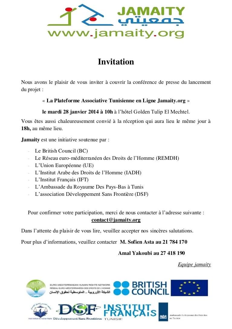 Au Plaisir De Vous Lire : plaisir, PRESSE:, Invitation, Jamaity, (Français)
