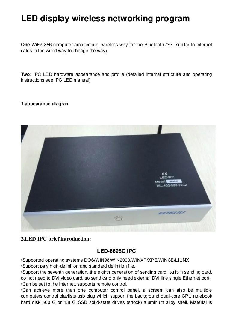 outdoor led display wiring diagram [ 768 x 1087 Pixel ]