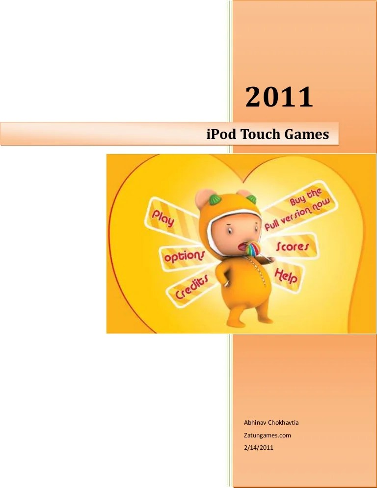 iPOD Touch Games | iPOD Games | Free iPod Touch Games | Free iPod Tou…
