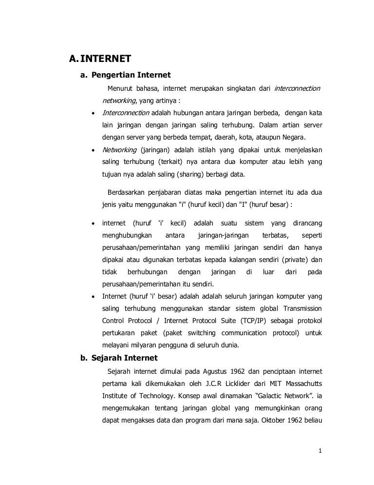 Apa Pengertian Internet Dan Intranet : pengertian, internet, intranet, Tugas, (Internet, Intranet)