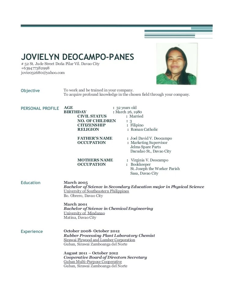 Jovielyn Deocampo