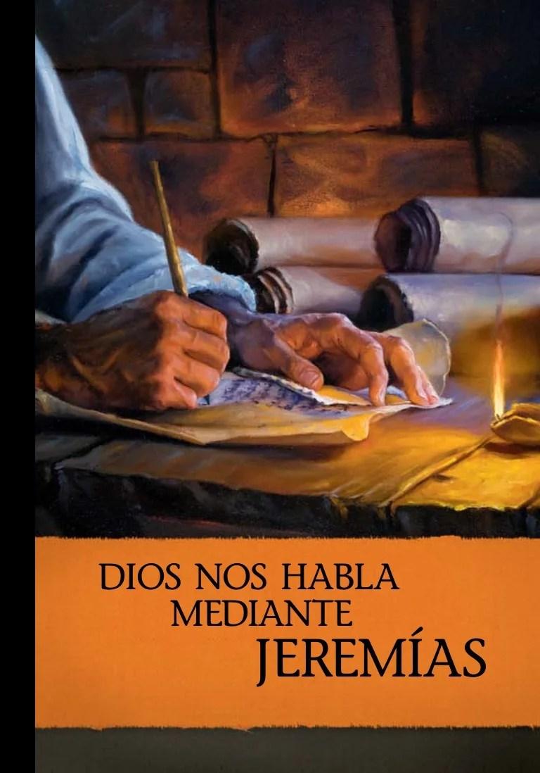 Dios Nos Habla Mediante Jeremias