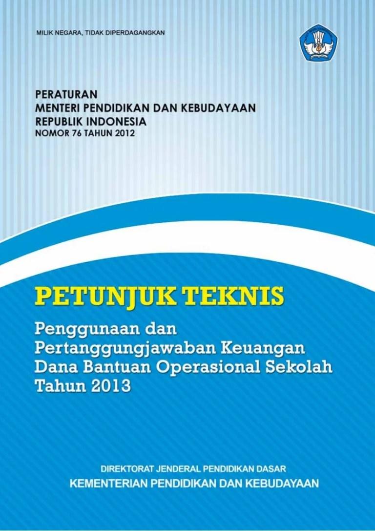 Juknis Bos 2019 Pdf : juknis, Juknis, 2013.pdf, Final