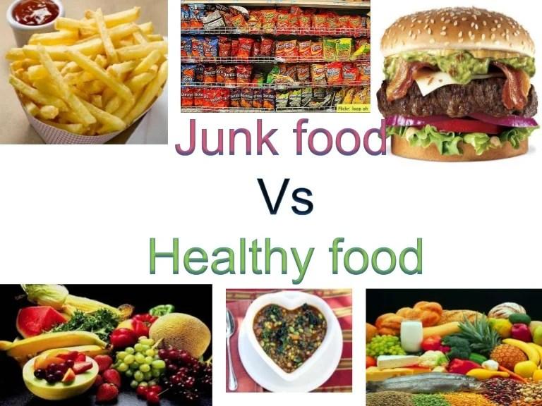 also junk food   healthy rh slideshare