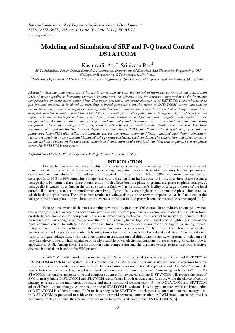 hight resolution of d statcom block diagram