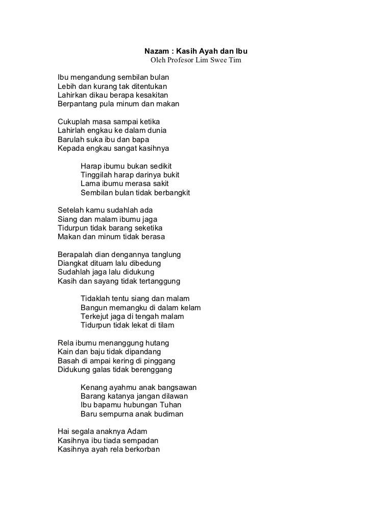 Download Lagu Kasihnya Ibu Ali Sadikin : download, kasihnya, sadikin, Download, Puisi, Tentang