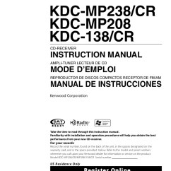Kenwood Kdc 108 Stereo Wiring Diagram Basic Fire Hydrant Hd548u 138 Manual User ~ Elsavadorla