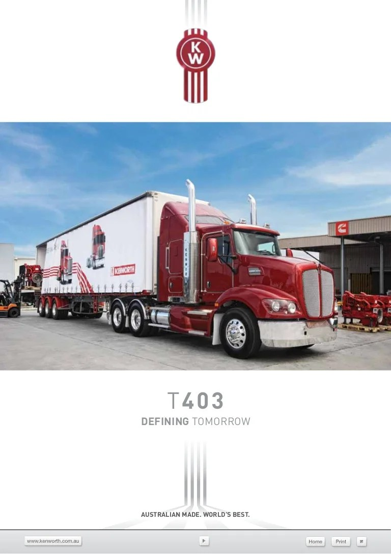 small resolution of kenworth truck dimension