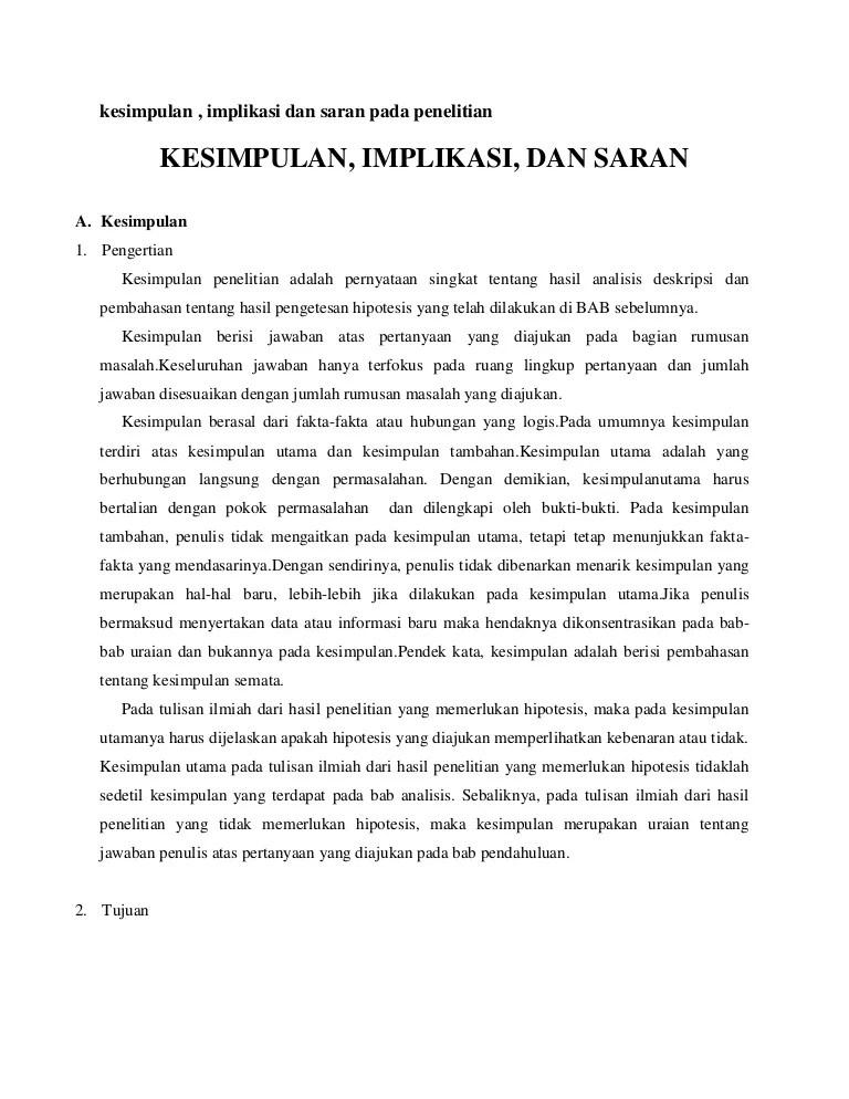 Contoh Kesimpulan Dari Proposal Penelitian : contoh, kesimpulan, proposal, penelitian, Kesimpulan