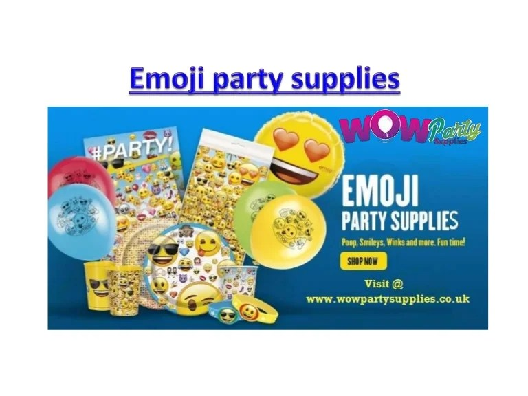 Uk Party Supplies Online