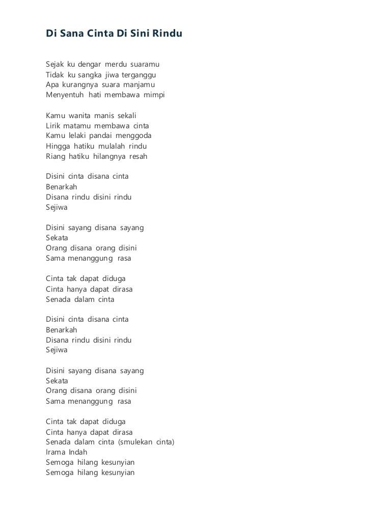 Lirik Jangan Menangis Untukku : lirik, jangan, menangis, untukku